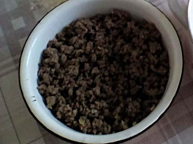 Блинчики с мясом и рисом - пошаговый рецепт