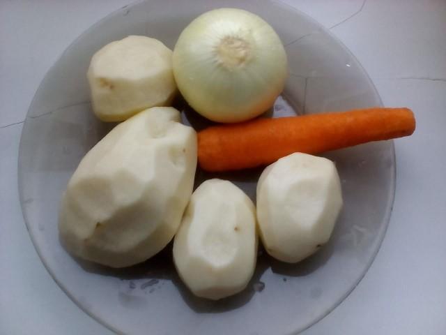 Овощи для рассольника