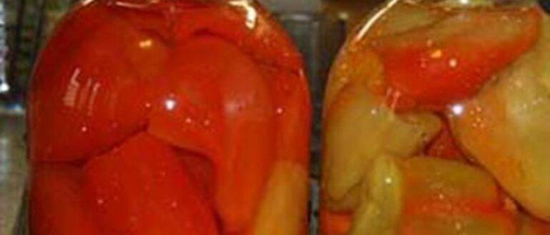 Перец в кисло-сладком маринаде