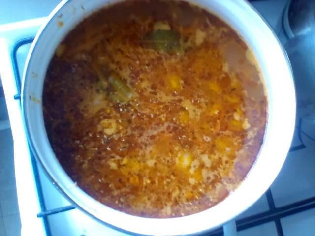 Суп харчо постный