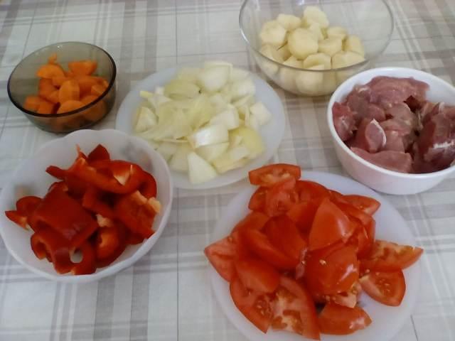 Нарежем ингредиенты