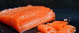 Солёный лосось в домашних условиях