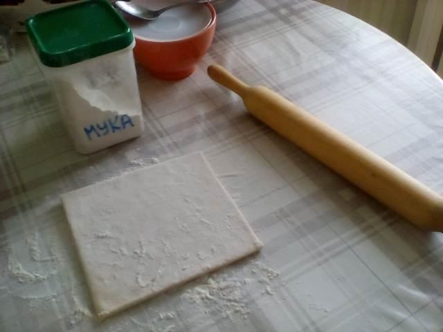 Готовое, слоеное тесто