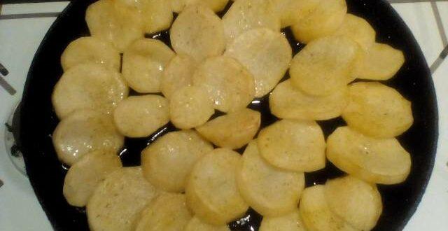 Запечённая в духовке картошка