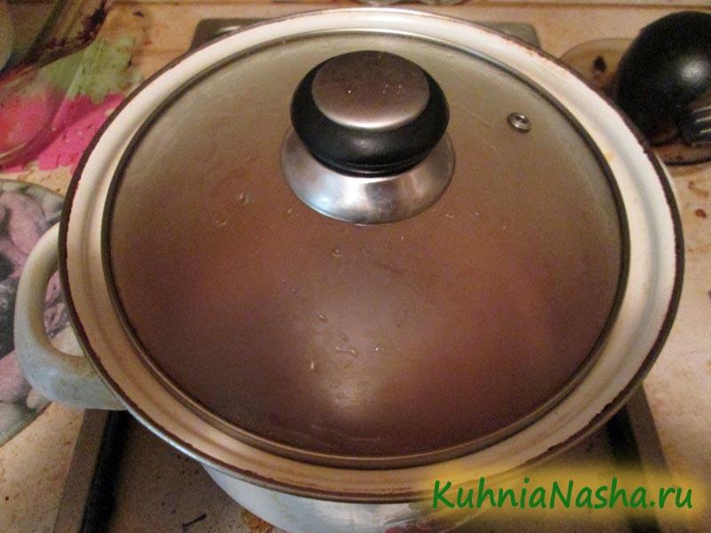 Варим куриный суп с грибами