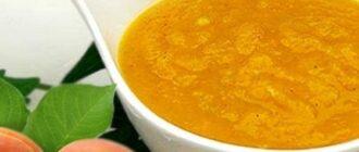 Простой и вкусный соус из абрикосов