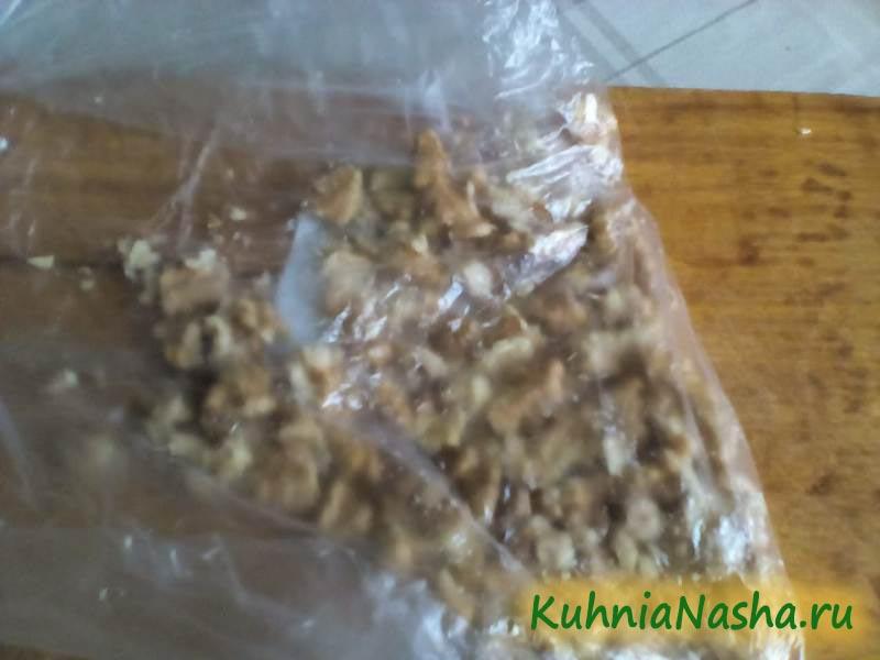 Толченые грецкие орехи