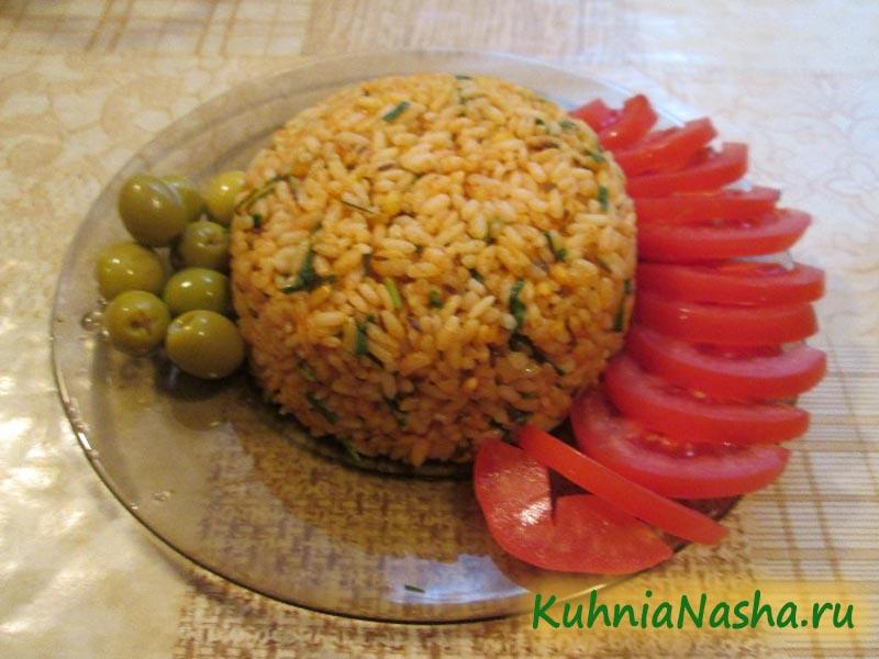 Рис на гарнир